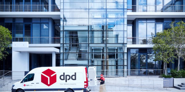 DPD Anlieferung