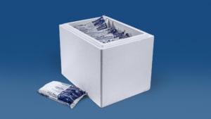30 kg Trockeneis Coolbags in der Styroporbox-Thermobox