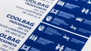 9 kg Trockeneis Coolbags mit Sicherheitshinweisen
