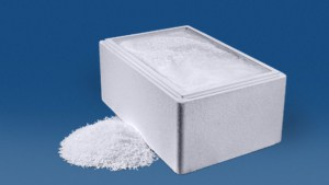 22 kg Trockeneis Micropellets in der Thermobox