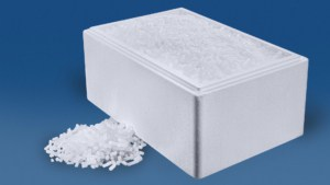 20 kg Trockeneis Nuggets in der Styropor-Thermobox