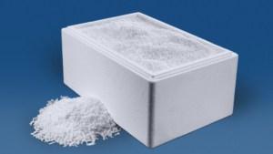 20 kg Trockeneis Strahlpellets in der Thermo-Styroporbox
