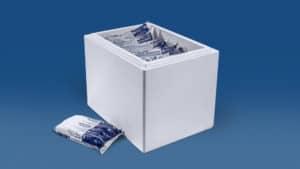 Trockeneis Coolbags 28 kg in Styroporbox